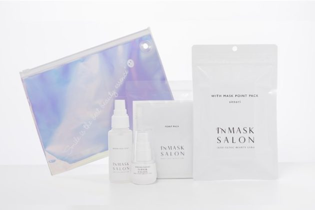 Japan's first online media launch of INMASK SALON, a skincare product specially designed for rough masks